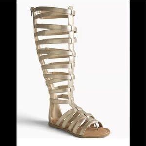Women's world W Torrid gladiator y'all sandals NWT